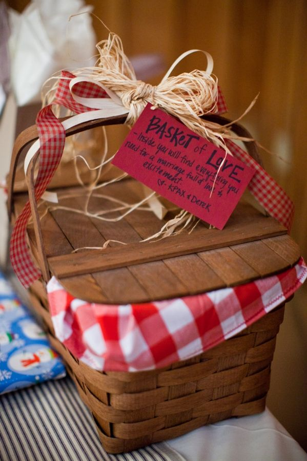 Picnic Basket Wedding Gift : Best images about gift ideas on unique