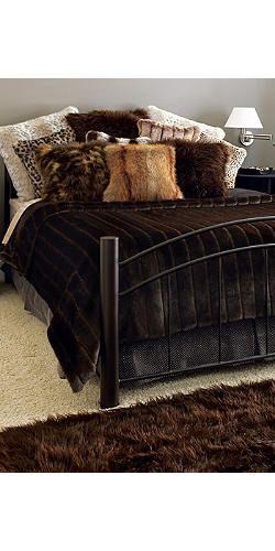 Custom Faux Fur Bed Comforter - Buy Fake Fur Bedding   Fabulous Furs