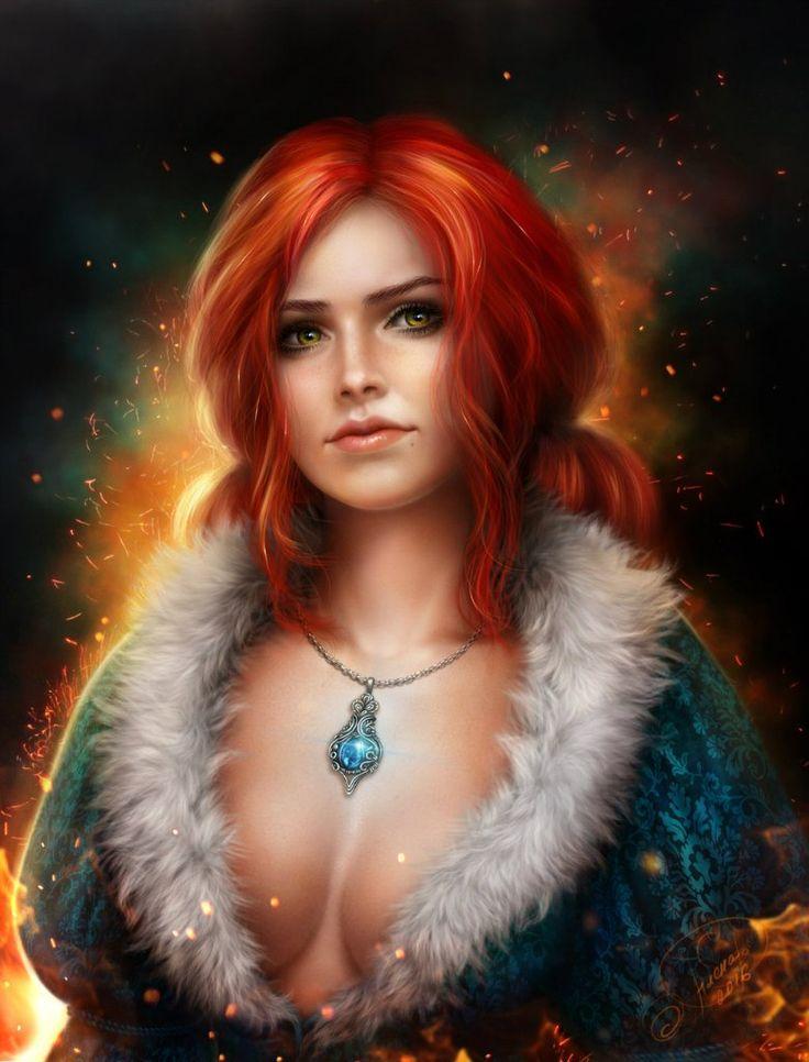 alenaekaterinburg,Трисс Меригольд,Triss Merigold,Witcher Персонажи,The Witcher,Ведьмак, Witcher, ,фэндомы,Witcher Эротика