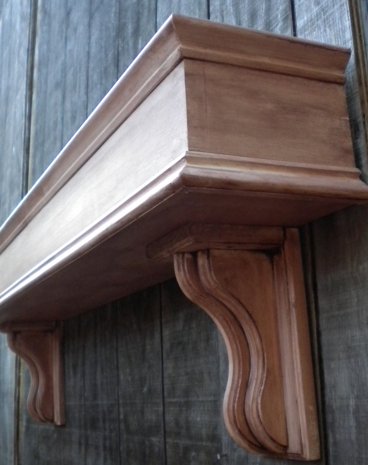 Shabby chic wooden Fireplace mantle box by RaysCustomWoodwork, $199.00