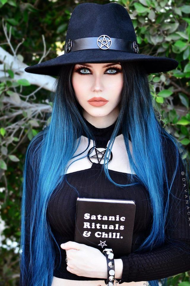 "gothicandamazing: ""  Model: Dayana Crunk Top: Killstar Welcome to Gothic and Amazing 
