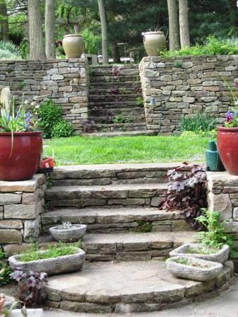Garden Bloggers' Design Workshop - Coping with Slopes - Gardening Gone Wild