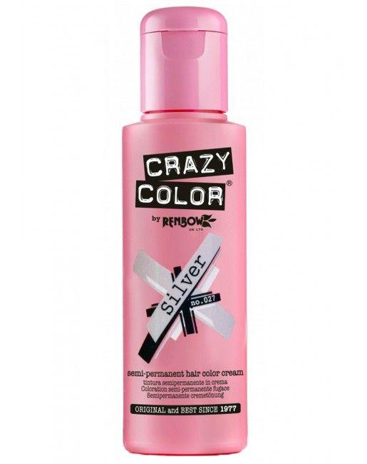 CRAZY COLOR Silver Hair Dye | Dolls Kill