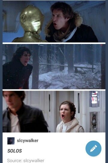 Imagine them all having a shouting match at their house.  / solos / Ben solo han solo Leia organa star wars tfa