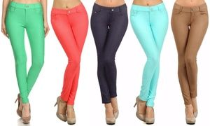Groupon - Style Clad Women's Jeggings. Groupon deal price: $15.99