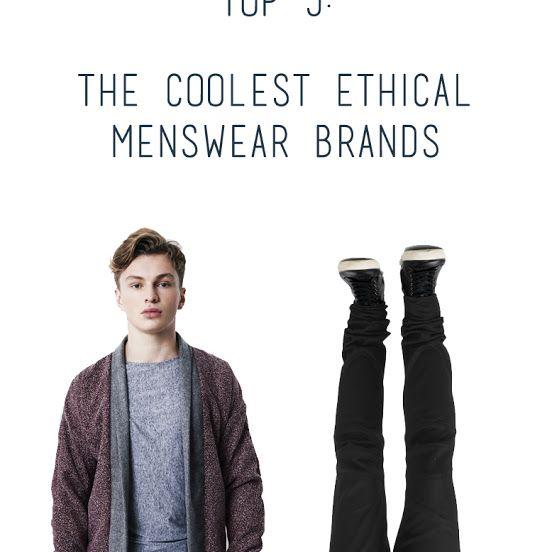 Ethical Menswear Fashion BlogsSlow FashionEthical BrandsFashion