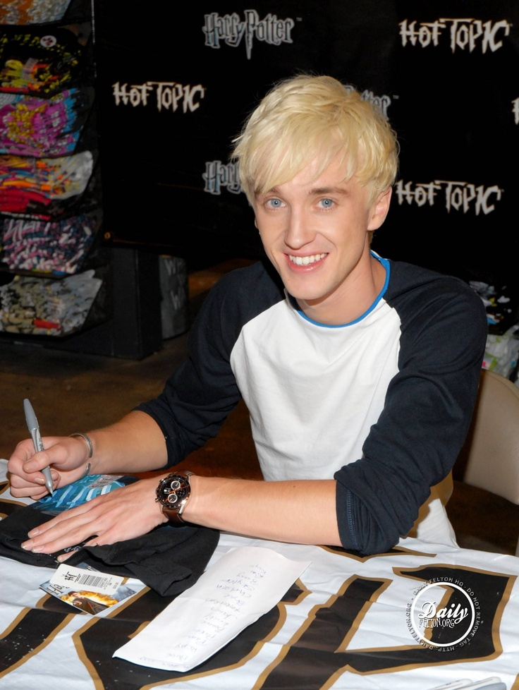 Tom Felton. Because he's more than just Draco Maloy. He's a funny ass individual.