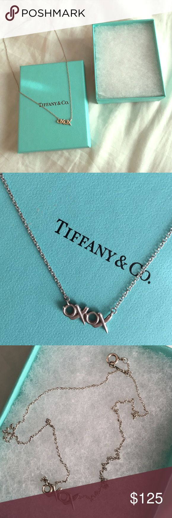 Tiffany and co necklace Beautiful anniversary, birthday, or special occasion gift for someone special in your life. Gently worn. Original packaging included Tiffany & Co. Jewelry Necklaces