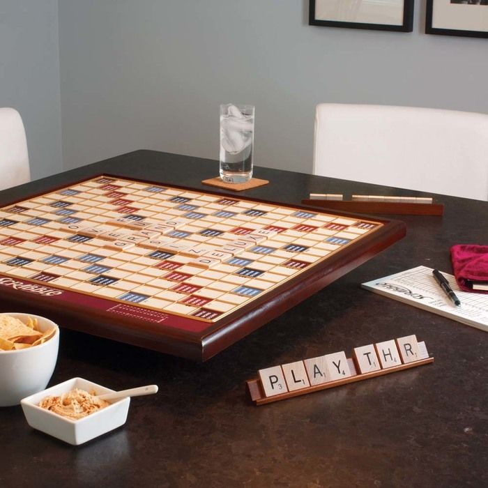 YES!!!  Giant Scrabble