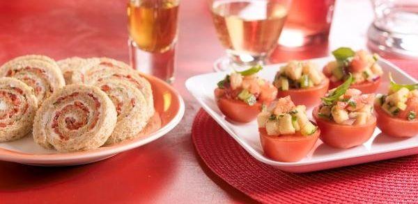Bruine Broodrolletjes Met Geitenkaas En Paprika recept | Smulweb.nl