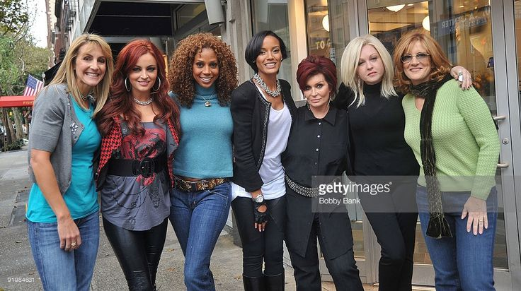 Sharon Osbourne and Maria Kanellis joins the cast of ' Celebrity Apprentice 3' with their girls team for first challenge on the streets of Manhattan on October 18, 2009 in New York City. Description from gettyimages.com. I searched for this on bing.com/images