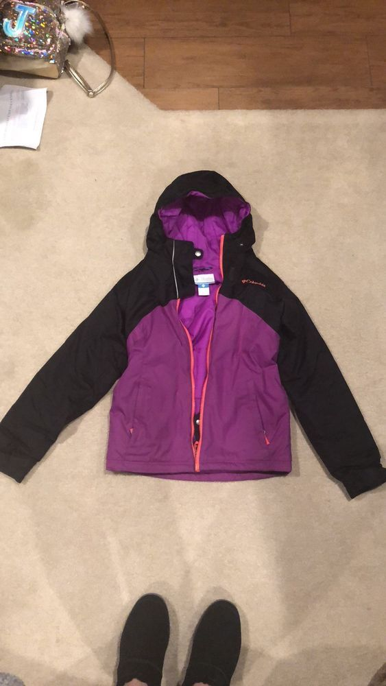 01c39a9dd5c7 girls columbia jacket size 10 12 winter  fashion  clothing  shoes ...