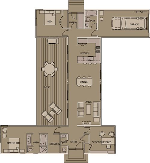 More Interesting Container House Floor Plans