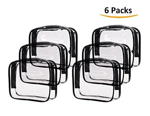 Best Makeup Bag | Louise Maelys 6 Packs Clear Cosmetics Bag Waterproof Travel Bag Toiletry Organizer Case Small >>> Want to know more, click on the image. Note:It is Affiliate Link to Amazon.