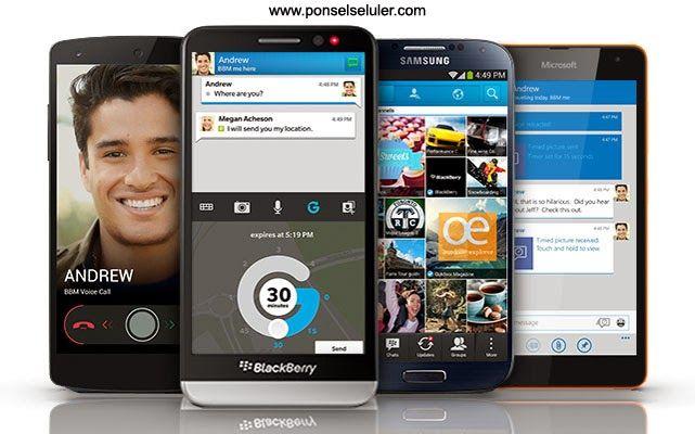 Fitur BBM For Android Up Date Yang Terbaru