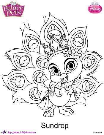 Disney 39 s Princess Palace Pets Free Coloring Pages and