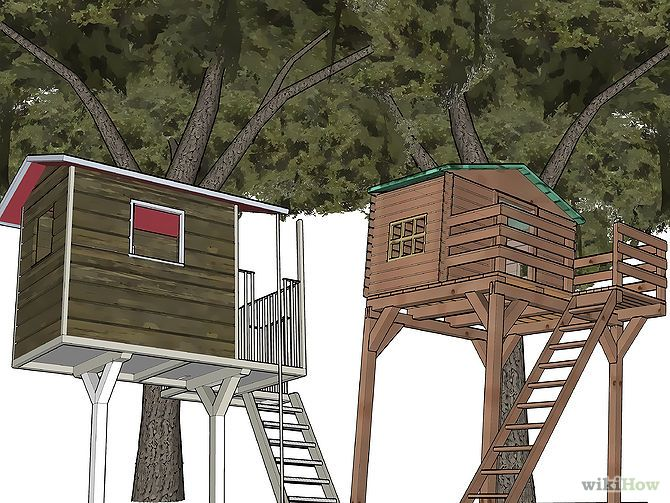 159 best images about treehouse on pinterest a tree diy for How to build a treehouse step by step