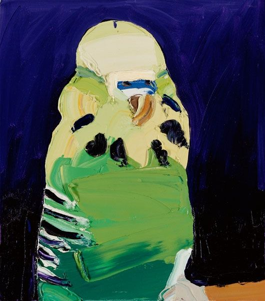 Ben Quilty's Budgies!!!! #lifeinstyle #greenwithenvy
