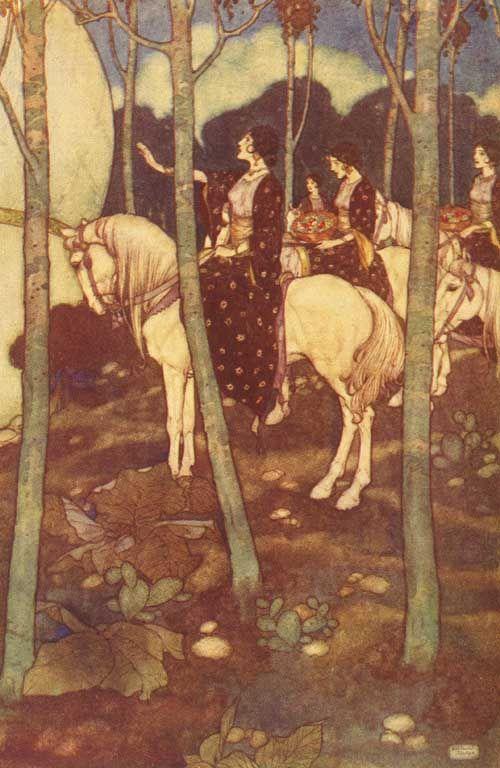 Horses - Edmund Dulac