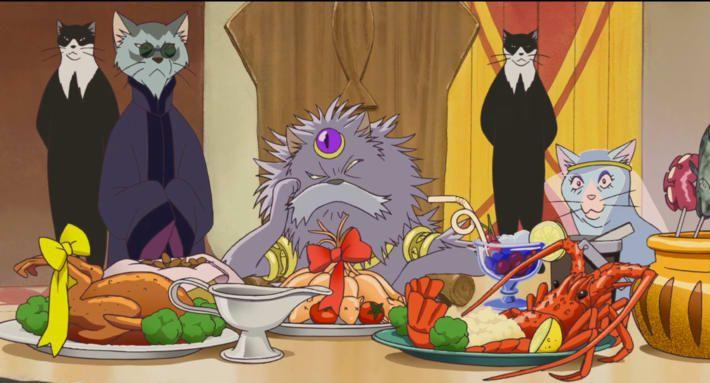 Food Scenes in Hayao Miyazaki Movies