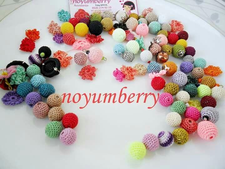 Örgü boncuk - crochet bead