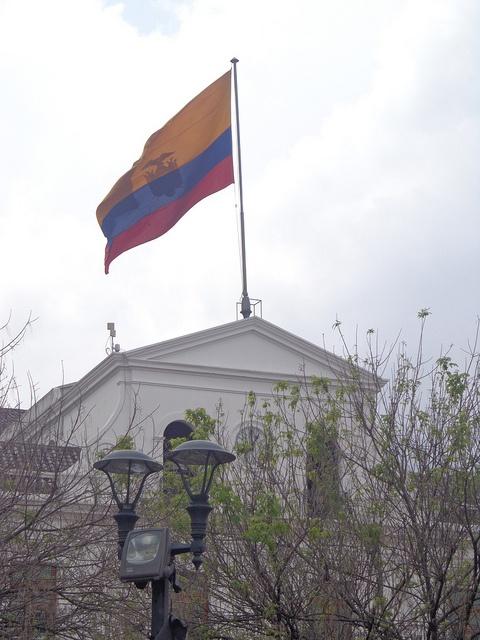 Bandera Ecuador by luchochivo5, via Flickr