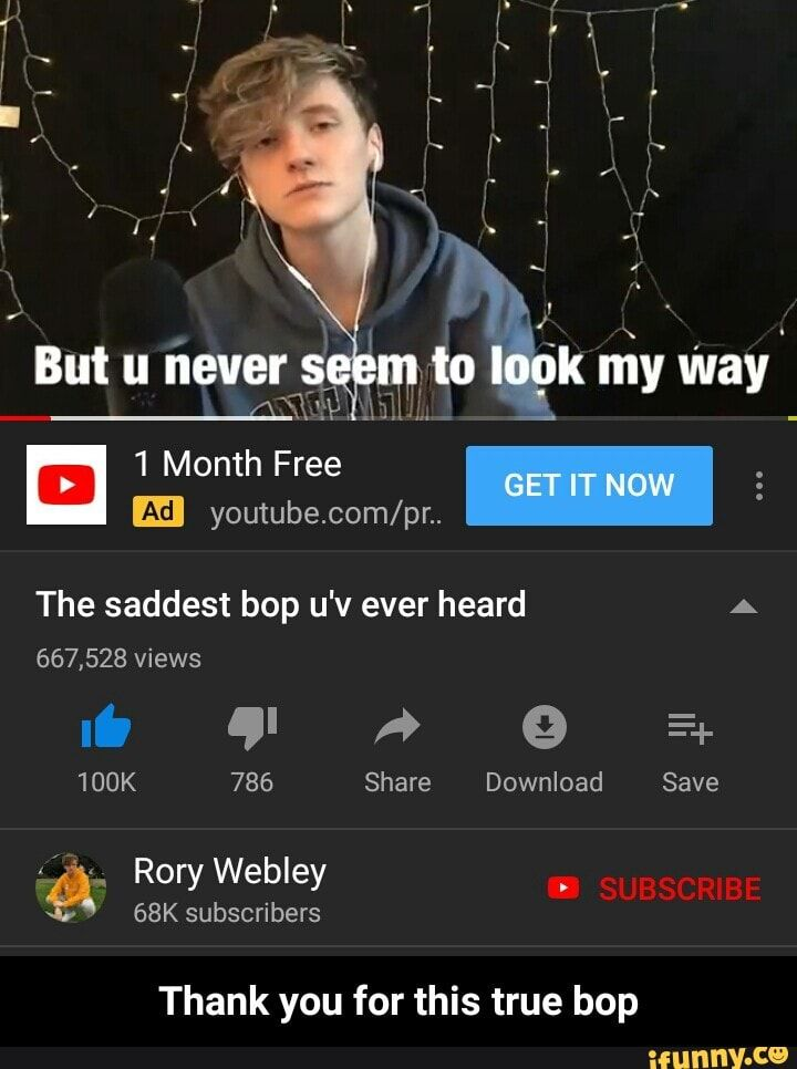 For This True Bop The Saddest Bop U V Ever Heard A Share Download Thank You Thank You For This True Bop Ifunny Memes Youtube Memes True