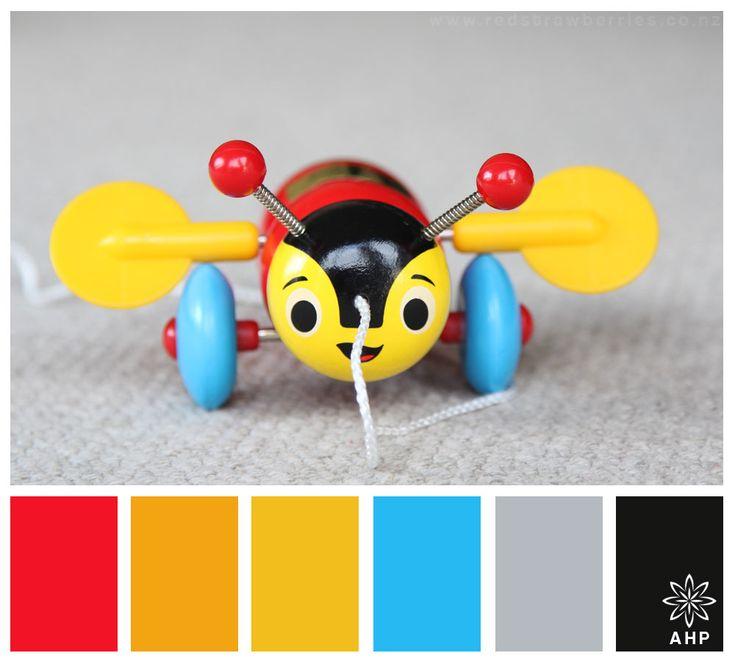 Buzzy Bee Colours