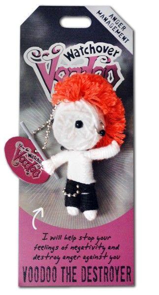 Watchover+VooDoo+String+Doll+Keychain+-+Voodoo+the+Destroyer