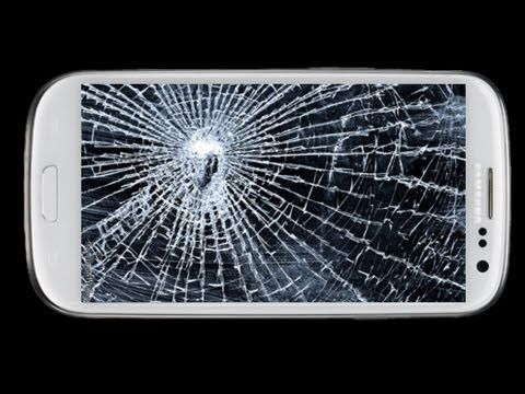 galaxy s3 cracked glass repair cost