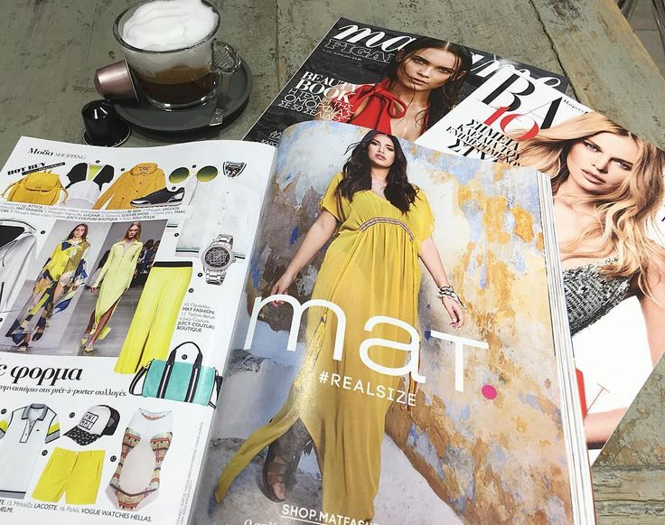 Our #SpringSummer2016 campaign as seen in fashion magazines @madamefigarogr & #HarpersBazaarGr May issues • Γεύση από καλοκαίρι στην νέα καμπάνια της #matfashion όπως παρουσιάζεται στα περιοδικά μόδας! #fashion #collection #inspiration #madamefigarogr #harpersbazaar #magazine #ootd #fashiongram #fashionista
