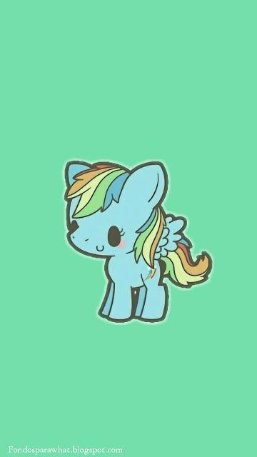 Fondo de Pantalla de Unicornio #Whatsapp #Background
