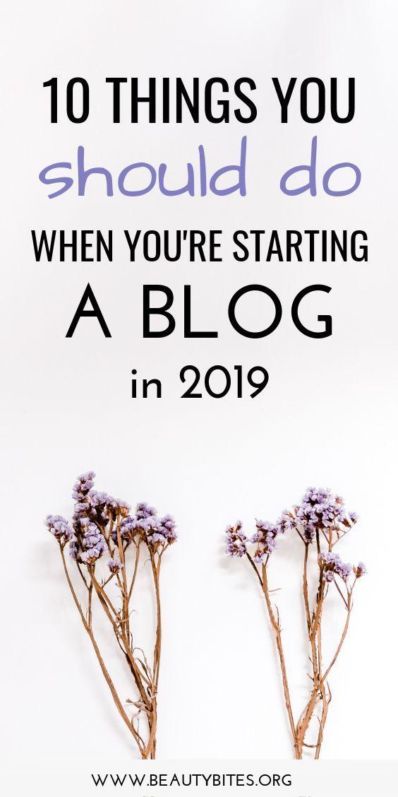 10 wichtige Schritte für Blogger-Anfänger! Tipps und Ideen zum Bloggen  – Busi… – DIY & Craft Projects