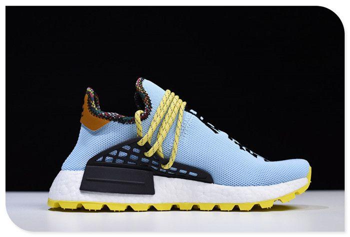 new product a8706 f9ce8 2019 的 Pharrell Williams x adidas Hu NMD