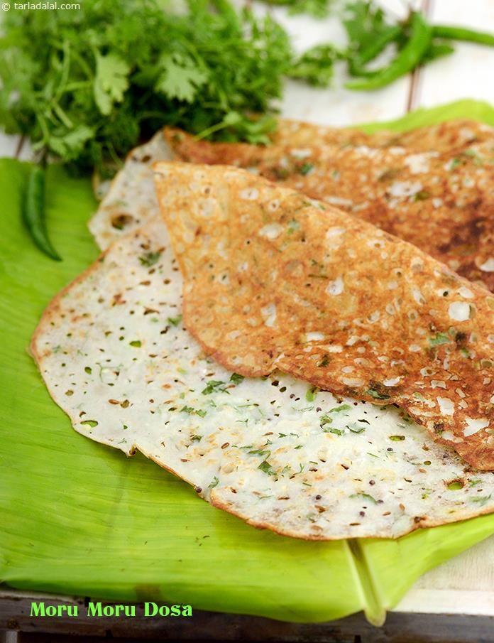 Moru Moru Dosa recipe   Dosa Recipes   by Tarla Dalal   Tarladalal.com   #1685