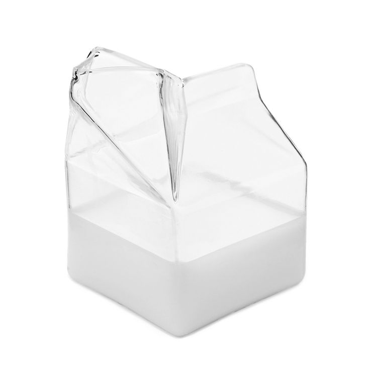 Glass-Milk-Carton