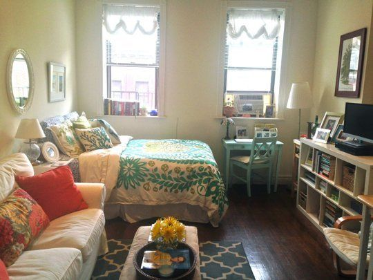 kristens comforting cozy abode small cool contest apartment therapy - Studio Apartments Furniture