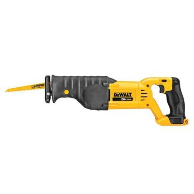 DEWALT DCS380B 20-Volt MAX* Variable Speed Cordless Reciprocating Saw (Tool Only)