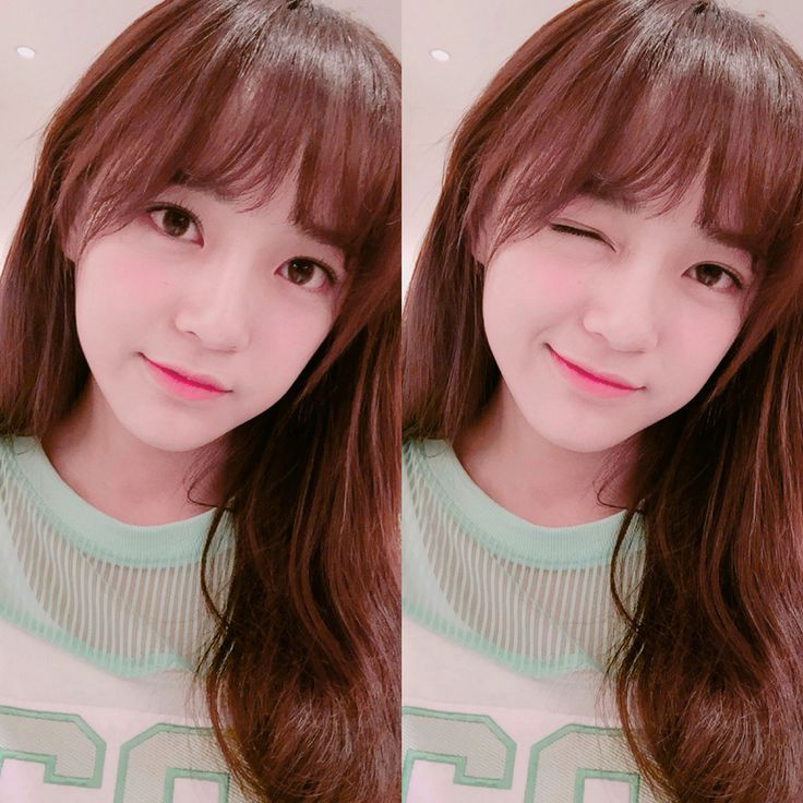 Sejeong's Selca How beautiful she is