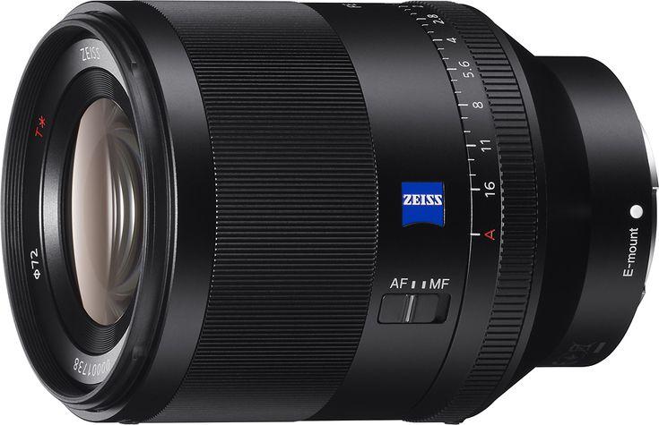 Sony - Planar T* FE 50mm F1.4 ZA Lens for Sony E-mount Full Frame and APS-C Cameras, SEL50F14Z