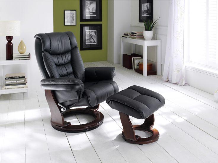 Relax-SesselTexas mit Hocker Absolut hochwertig verarbeiteter bequemer Wohnsessel in ansprechendem Design. Ein zeitloses Möbelstück zum Entspannen mit raffinierten Details für einen erstklassigen...
