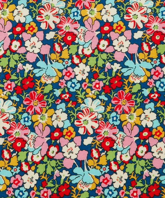 Red Lytton Cotton Craft Fabric - new Liberty art fabrics