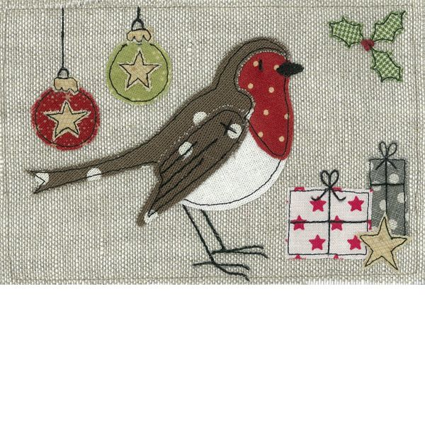 Emma Stead love the bird applique as a robin