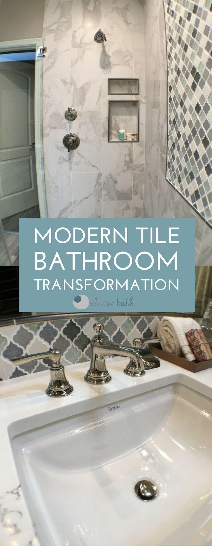 59 best Bathroom Tile images on Pinterest | Bathroom tiling ...