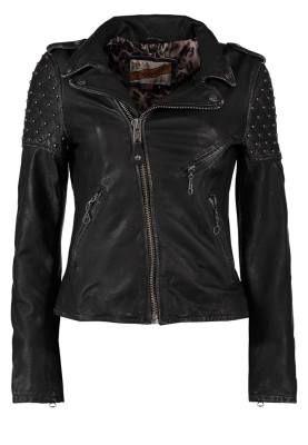 Schott Nyc Chaqueta De Cuero Antik Black Las Chaquetas De Cuero Las chaquetas de cuero para mujer funcionan en cualquier momento del día o de la noche y suponen un atractivo añadido que llenará de vitalidad todos tus looks.