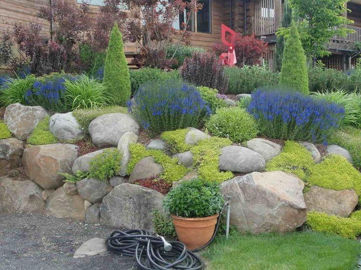 Ideas para tener un jard n con rocas estanques - Estanques para jardines ...