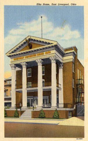 Elks Home, East Liverpool, Ohio :: General