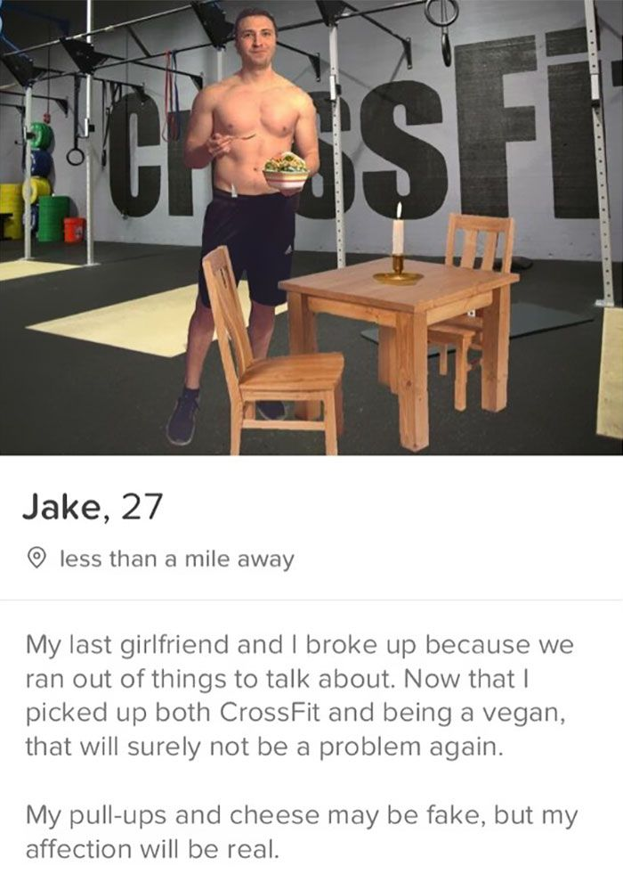 Tinder fake Why Tinder