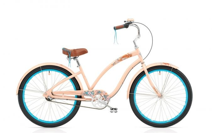 Electra Women's Bikes 3 Speed Bicycles Electra Koi Cruiser