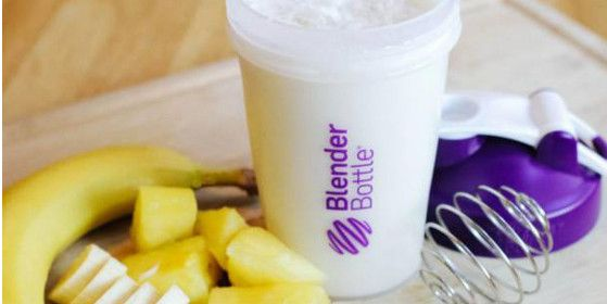 Tropical+Dream+Protein+Shake: Ingredients 6 oz. Coconut Juice (or Coconut Water) 1/4 c Pineapple Juice 1/2 Banana (Mashed) 1 Scoop Vanilla Protein Powder Preparation In order listed, add ingredients to BlenderBottle and shake until smooth.